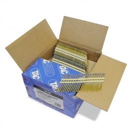 3.1 x 90mm Extra Galvanised Screw 22 Degree Plastic Collated Strip Nails (3000)