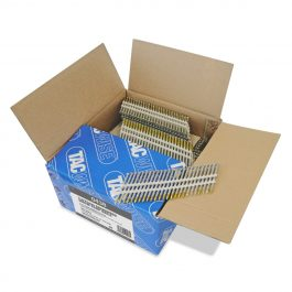 3.3 x 75mm Extra Galvanised Screw 22 Degree Plastic Collated Strip Nails (3000)