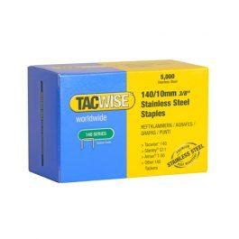 10mm 140 Series Stainless Steel Staples Bulk Box (5000)
