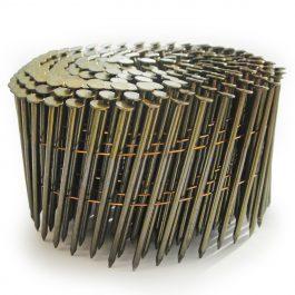 2.1 x 50mm Gavanized Ring Flat Coil Nails (14400)