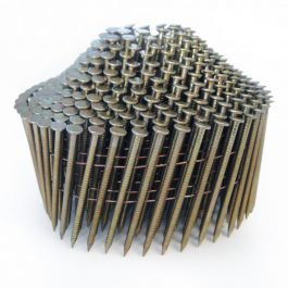 2.1 x 27mm Galvanized Ring Conical Coil Nails (16,000)