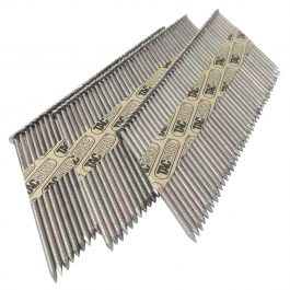 2.8 x 65mm Extra Galvanised Ring 34 Degree Paper Collated Strip Nails (3300)