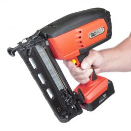 Tacwise 16g Ranger 2 Angled Finish Nailer 18V (2 X 2Ah Lithium Batteries & Fast Charger)