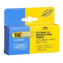 10mm 53 Series Stainless Steel Staples (2000)
