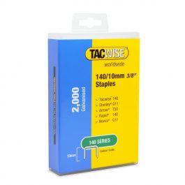 10mm 140 Series Galvanised Staples Plastic Pack (2000)